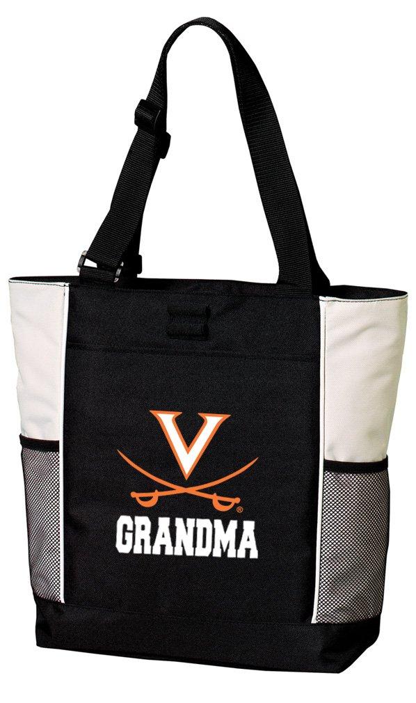 Broad Bay University of Virginia Grandma Tote Bags UVA Grandma Totes Beach Pool Or Travel