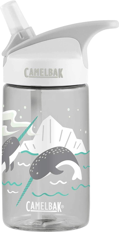 CamelBak Eddy Kids Arctic Narwhal Glow in The Dark 400ml Water Bottle