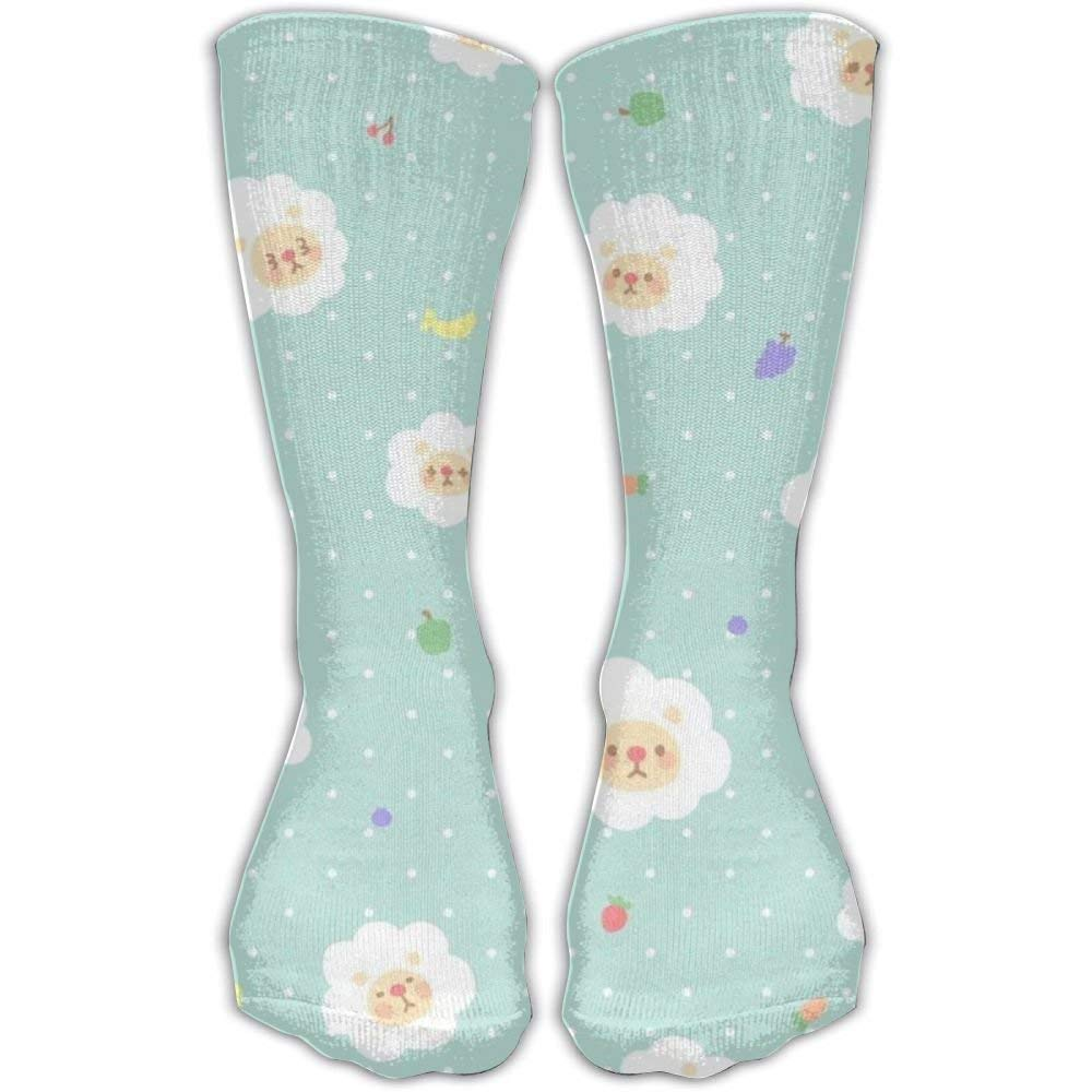Design Lovely Sheep Cute Style Fun And Cool Art Socks For Women /&Girl