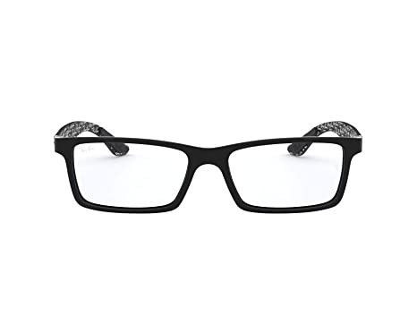 f94ab0e2f9 Amazon.com  Ray-Ban RX8901-5843 Eyeglasses BLACK 53mm  Clothing
