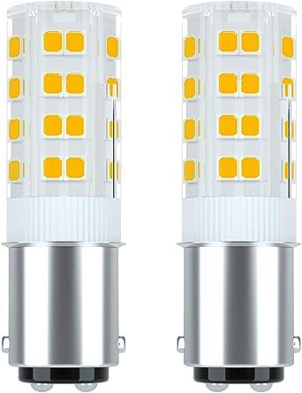 Ymm B15d Dimmbar Led Lampe Glühlampe 4w B15d Led Lampe 350 Lumen 220 240v Ac 360 Grad Winkel Cri 80ra Warm Weiß 3000k Ersatz Für 45w B15d Halogenlampen 2er Pack Amazon De Beleuchtung