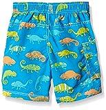 Hatley Boy's Crazy Chameleons Board Swim Shorts, Multicoloured (Blue), 5 Years Bild 2