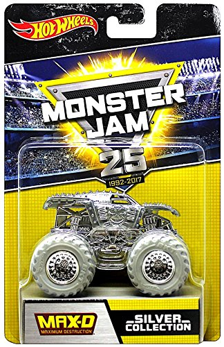 Hot Wheels Monster Jam 25th Anniversary Collection Max-D  Di