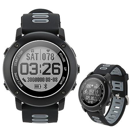 UW90 Smart Watch GPS Deportes al Aire Libre a Prueba de Agua Reloj Inteligente Monitoreo de ...