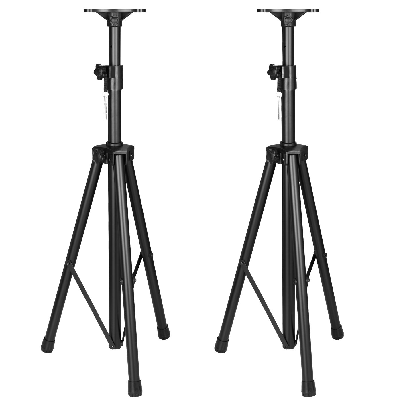 Acesonic SS-689 Professional Heavy Duty Speaker Stands (Pair) by Acesonic