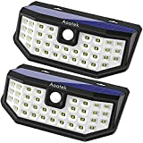 New Upgraded 36 LED Solar Lights with Wide - Best Reviews Guide