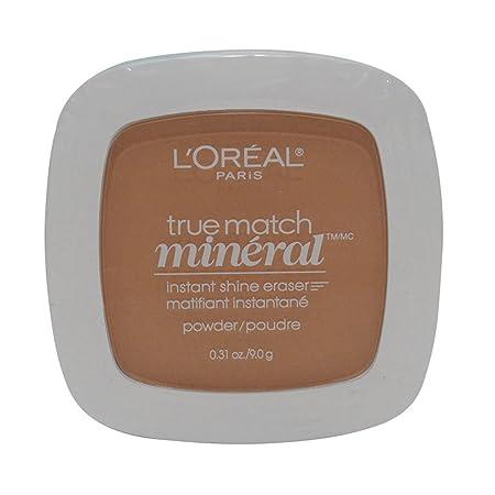 2 Pack- L Oreal True Match Mineral Instant Shine Eraser Powder W6-7 413 Sun Beige