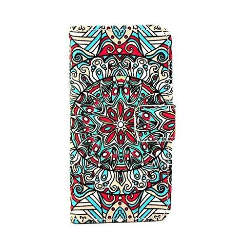 Monkey Cases® iPhone 6 PLUS 5,5 Zoll - Flip Case - MUSTER - Matt - Premium - original - neu - Tasche