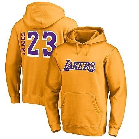 NBALL-HU Los Angeles Lakers # 23 Sudadera con Capucha James ...