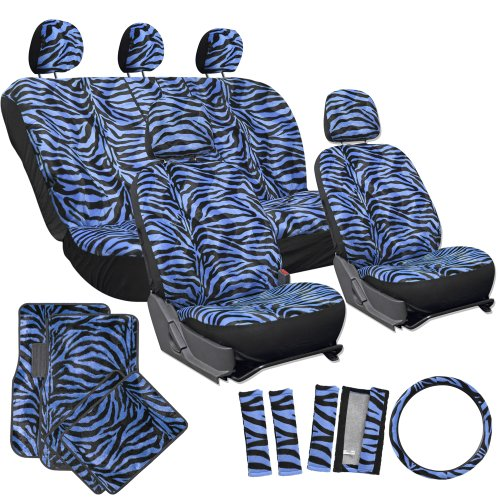 OxGord Zebra Carpet Steering Shoulder product image