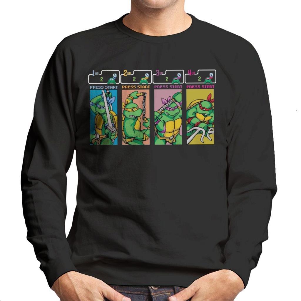 Teenage Mutant Ninja Turtles Arcade Game Mens Sweatshirt ...