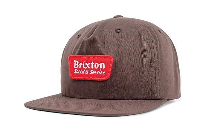2769581eb0c Amazon.com  Brixton Men s Compressor Medium Profile Adjustable ...