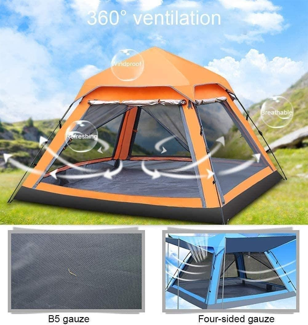 2-3 Persoon Camping Tent, lichtgewicht, geschikt for wandelen, Camping, Outdoor Travel, waterdicht, Double-layer winddicht, eenvoudig te installeren Blue