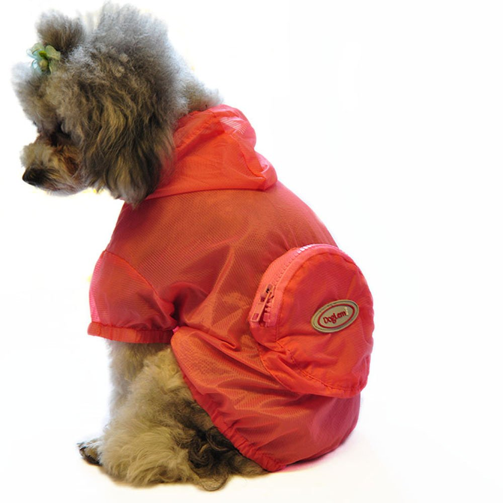 Pesp Pet Dog Cat Puppy Slim Summer Sun UV Protection Clothing Vest Tops Raincoat Rainwear Costumes