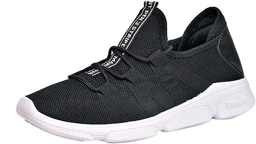 WWricotta LuckyGirls Zapatillas de Correr Hombre Casual Moda Cómodas Calzado para Deporte Zapatos con Cordones Bambas de Running Deportivas Al Aire Libre Zapatos de Gimnasia: Amazon.es: Deportes y aire libre