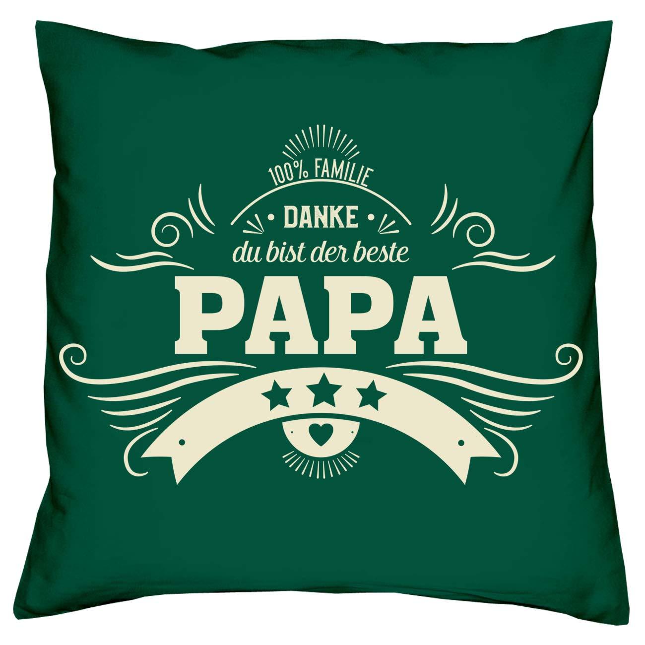 Soreso Design Geschenk Set für Eltern zu Weihnachten 2 Kissen Kissen Kissen + 2 Urkunden für Mama & Papa B07JYRJ4QD Zierkissen f8c7b9