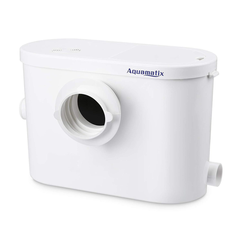 Aquamatix Silencio 3 Bomba de aguas residuales 2 entradas laterales