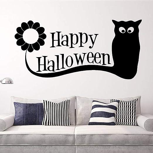 FunPa Halloween Etiqueta de Halloween Búho de la Moda Carta de la ...