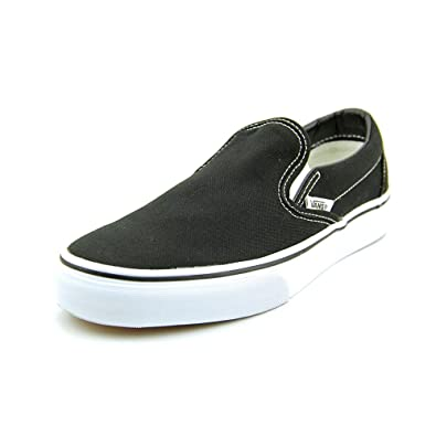 ada1171772 Image Unavailable. Image not available for. Color  Vans - Unisex Adult Classic  Slip-On Shoes in Black ...