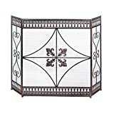 Accent Plus Decorative Fireplace Screens, French Antique Iron Screen For Fireplace