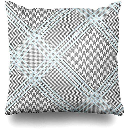Jubenlcai Decorative Throw Pillow Cover Square Cushion 18