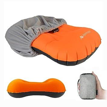 Amazon.com: AYAMAYA Almohada inflable para acampada con ...