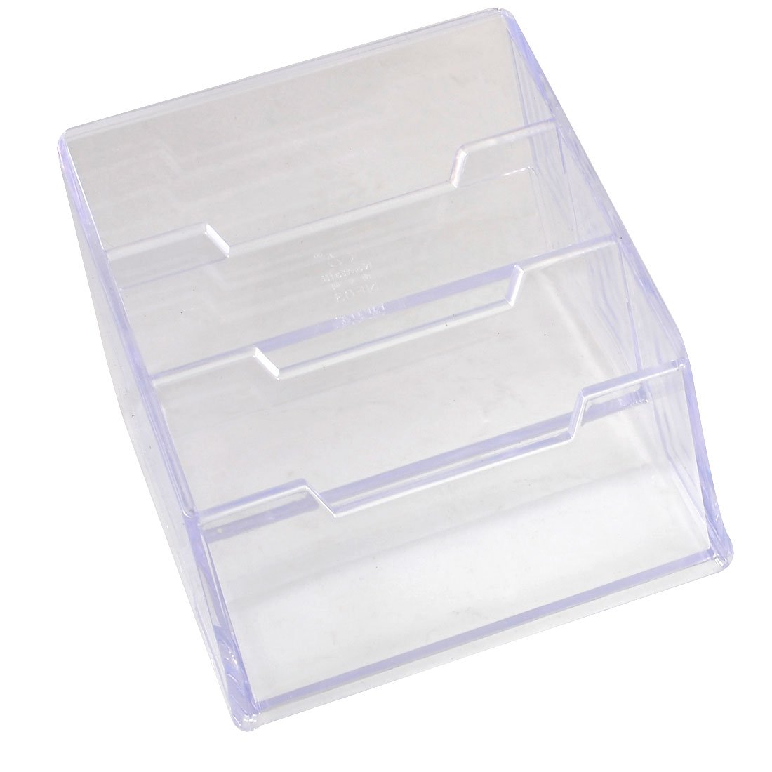 Amazon.com : Plastic 3-tier Design Business Card Stand Holder Case ...
