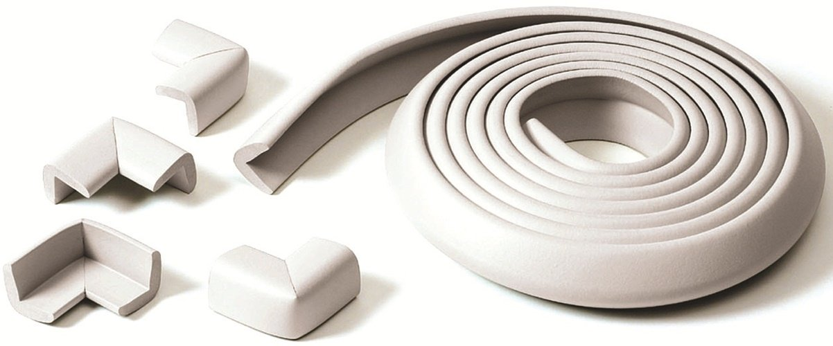 Prince Lionheart Table Edge Guard with 4 Corners (Neutral) 0070 Baby Babycare childproofing