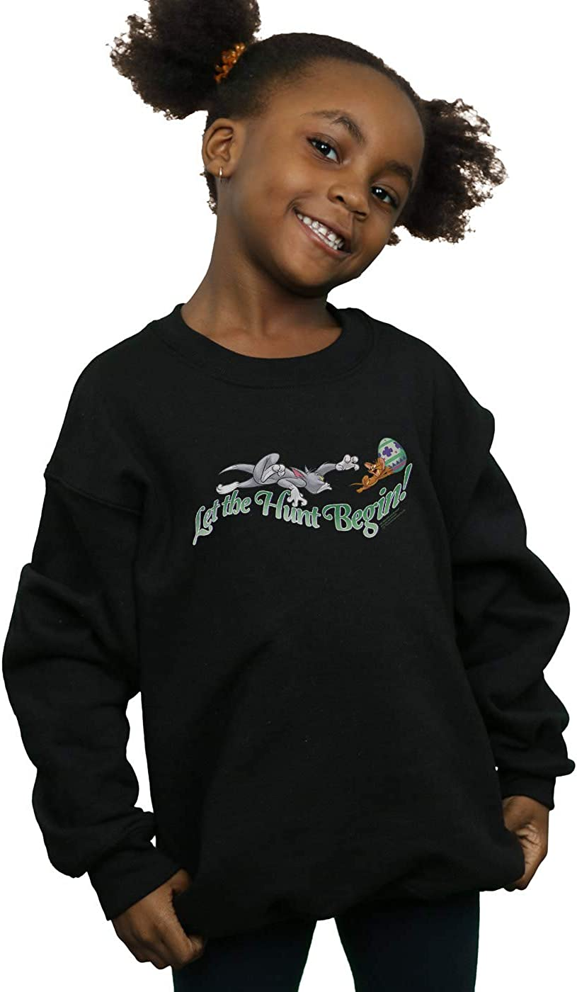 Tom and Jerry Girls Let The Hunt Begin Sweatshirt