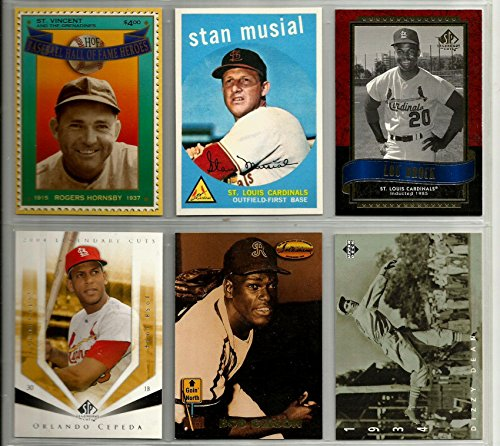 st-louis-cardinals-superstar-hall-of-famer-reprint-baseball-card-lot-6-lou-brock-orlando-cepeda-stan