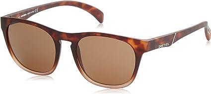 TALLA 53. Diesel Wayfarer Eye Gafas de sol Unisex Adulto