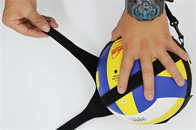 MissW Volleyball Practice Serve Equipment- Great Volleyball Training Aid for Solo Practice of Arm Swing Rotations - Strap Wrap around Waist