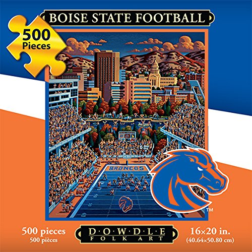 Jigsaw Puzzle - Boise State University Broncos-BSU-500 Pc By Dowdle Folk Art