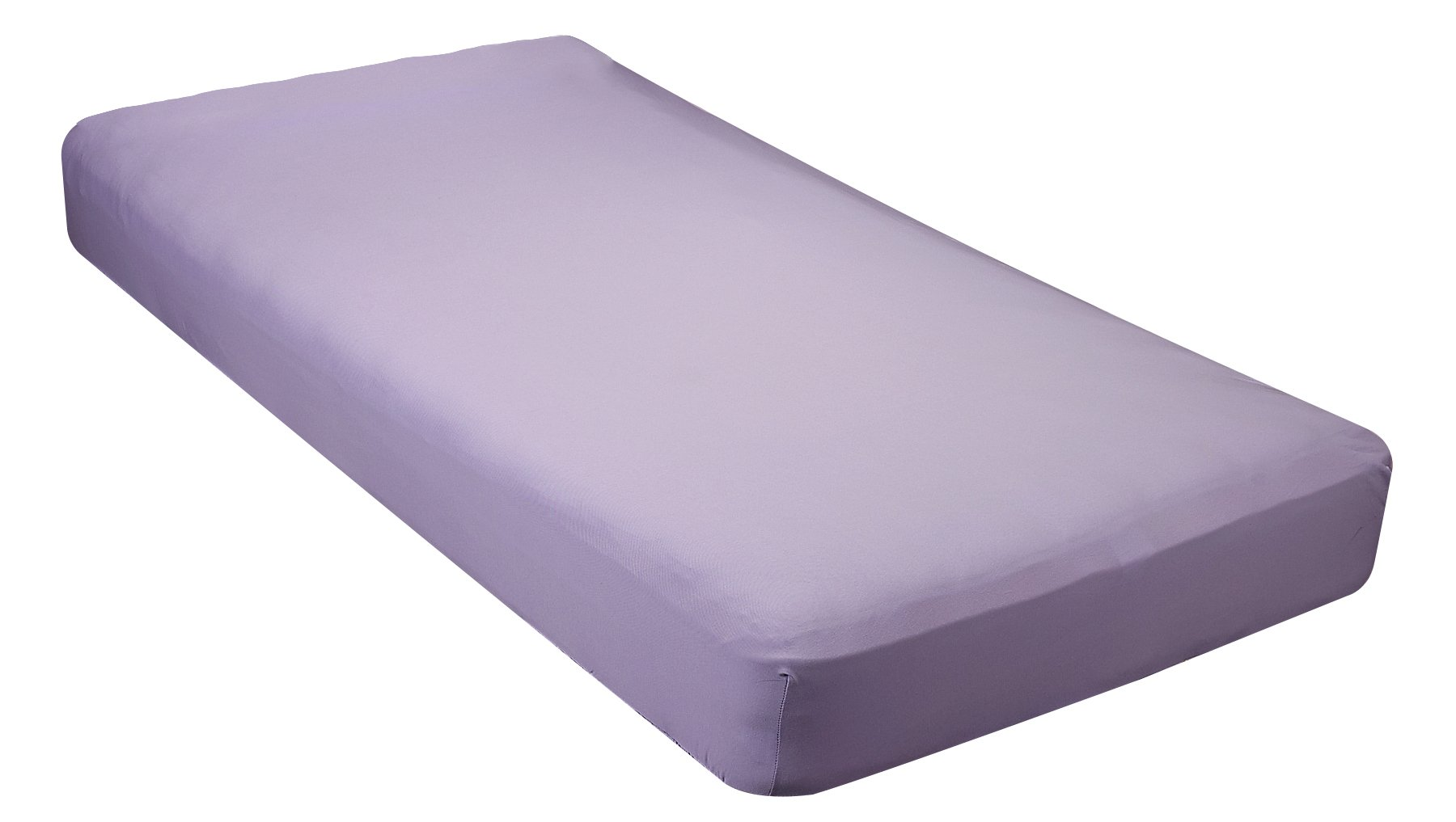 Gilbin 100% Jersey Knit Cotton Fitted Cot Sheet For Camp Cot Mattresses 30'' x 75''