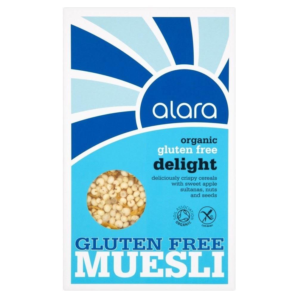 Alara Organic Gluten Free Delight Muesli (250g) - Pack of 6
