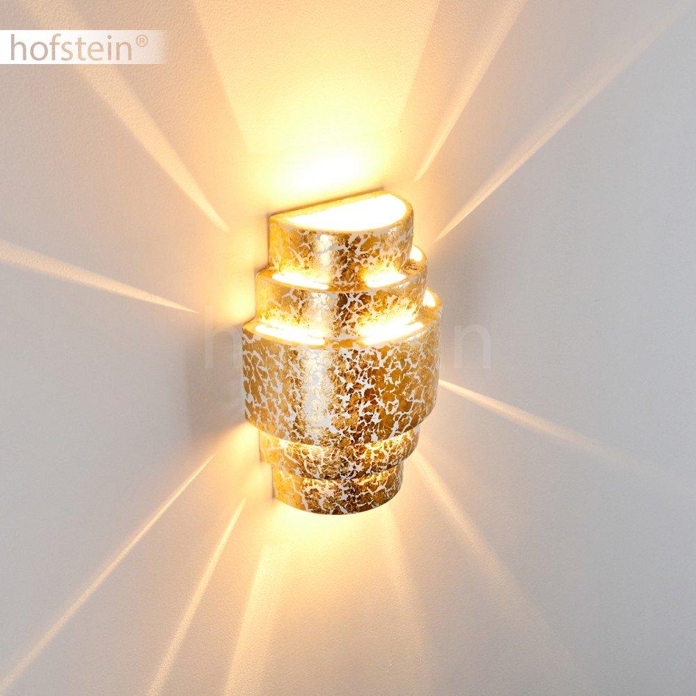 comedor L/ámpara de pared cer/ámica moderna Handan -Con efecto up /& down sala de ni/ños Aplique para sal/ón dormitorio dorada vest/íbulo
