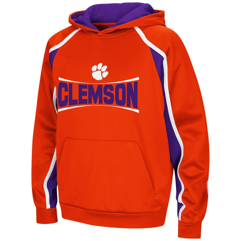 Colosseum Youth Clemson Tigers Pull-Over Hoodie