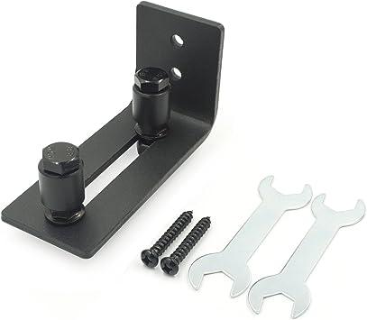 Ajustable canal de suelo hardware rodillo de guía para puerta del ...