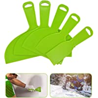 Gresunny 5 stuks plamuurmes kunststof plastic plamuurmessen set flexibel schraper gereedschap verfschraperbladen voor…