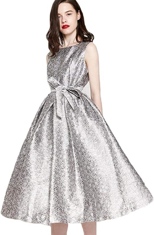 Trajes con falda Vestido Vestido Sin Mangas De Verano para Mujer ...