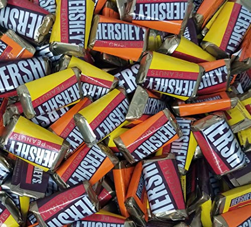 Hershey's Miniatures Bars, Special Dark Mildly Sweet Chocolate Candy Assortment, Individually Wrapped, 3 lbs ()
