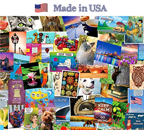 SAMPLER-POSTCARD-SET-of-20-cards-Post-card-variety-pack-of-random-assortment-of-20-mixed-sample-postcards-Made-in-USA