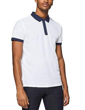 Polo Esprit piqué Blanco Large Blanco: Amazon.es: Ropa y accesorios