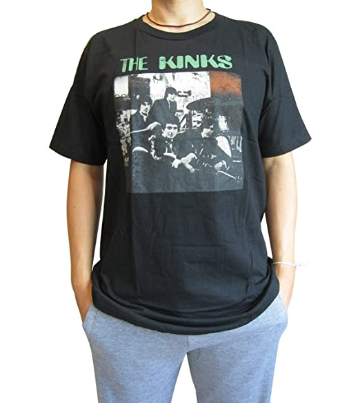 Amazon com: H&H Mens The Kinks Band 80's Tour Concert T