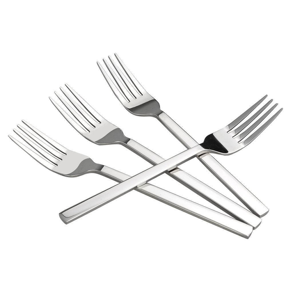 Cadine 12 Piece Stainless Steel Dinner Forks Cadiners
