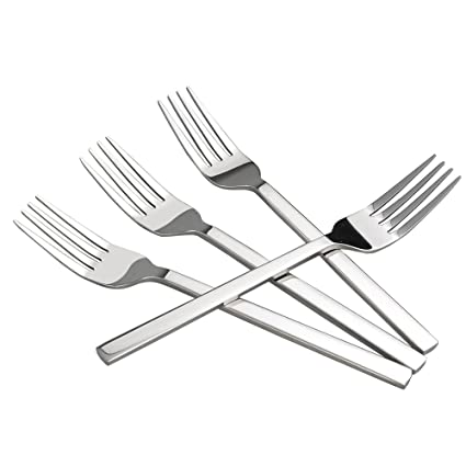 Cadine Set de 12 Piezas Tenedor de Cena, Tenedores Acero ...
