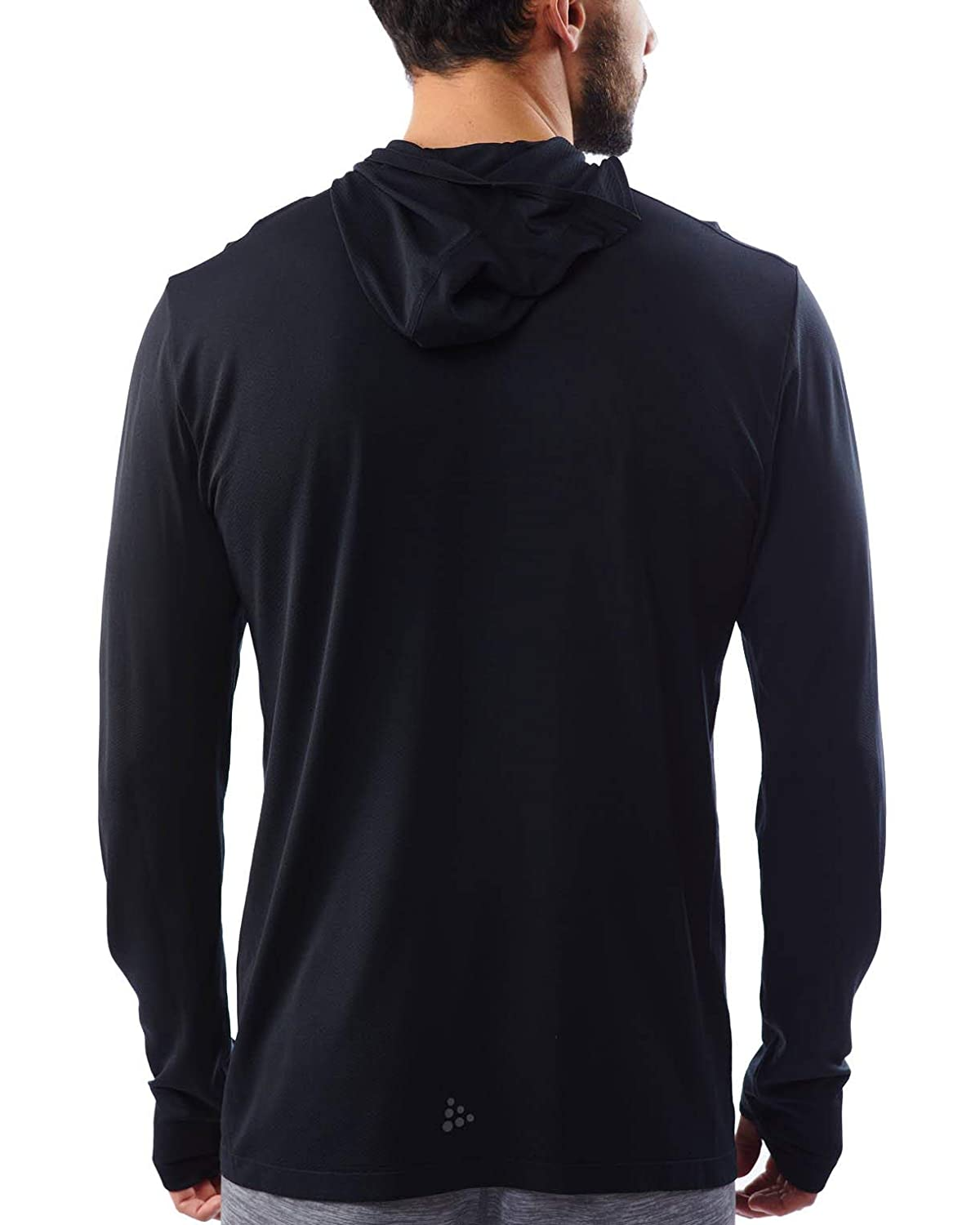 Spartan Race by Craft Core Fuseknit LS Hood Mens