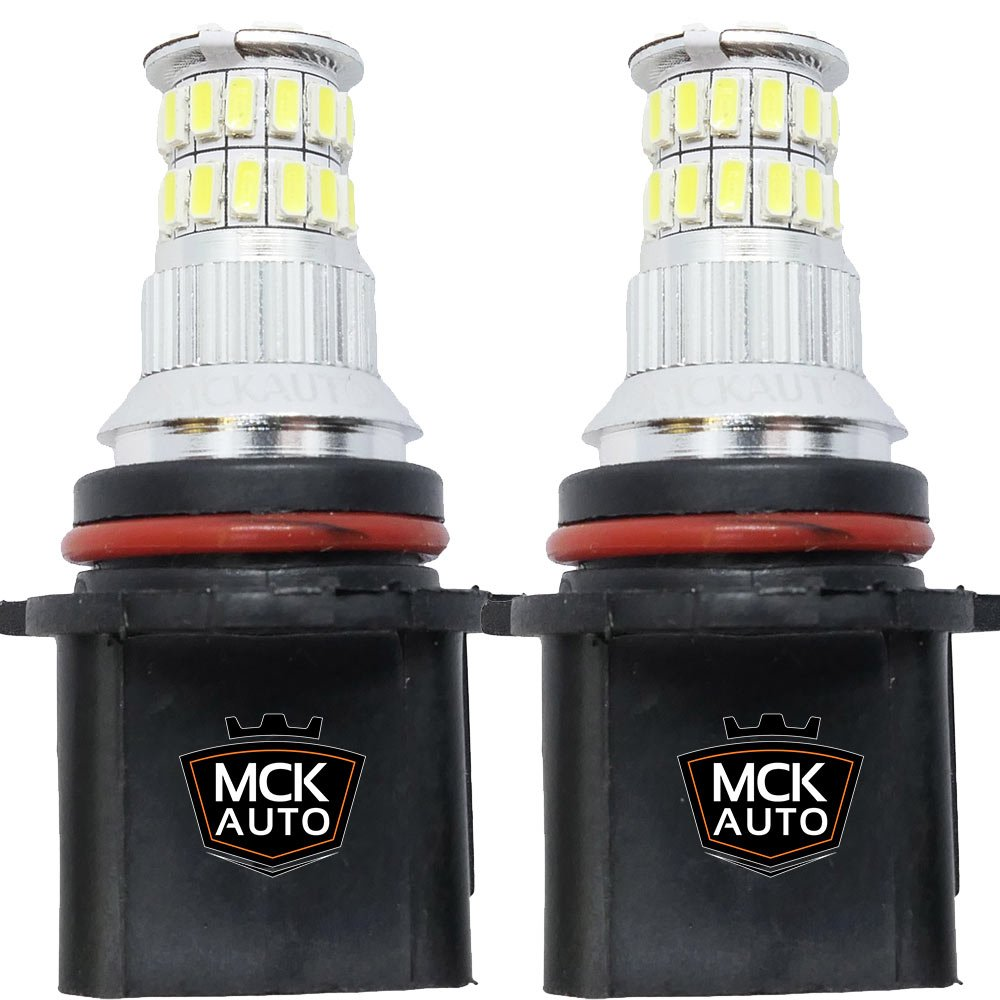 MCK Auto P13W LED Canbus Muy claras, pequenas y facil de reemplazar Luces de Conducció n Diurna Bombillas LED Canbus Xenó n DRL P13W Cree 36SMD EB3R3