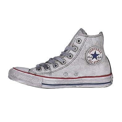 MainApps - Zapatillas Converse All Star Limited Edition, de piel, blancas, para hombre y mujer, Unisex - Adulto, gris, 3.5: Amazon.es: Zapatos y ...