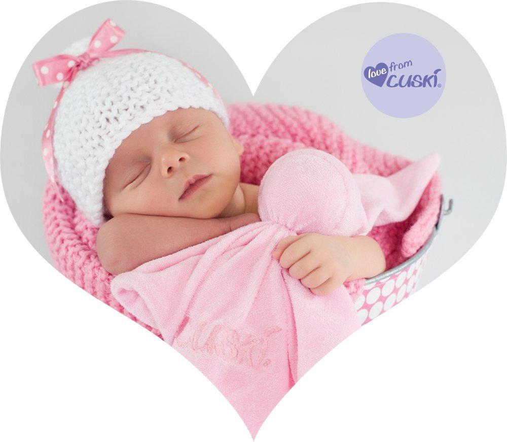 Cuski Baby Comforter Original, as used within NHS (Pinkee) 1004